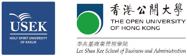Logos USEK et Open University Hong-Kong