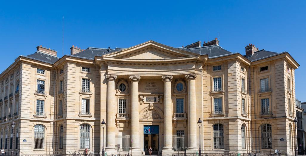 Photo de la façade de l'université Paris 2 - Centre Panthéon
