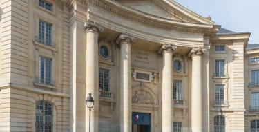 Photo de la façade du Panthéon