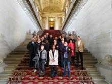 Etudiants MAP au Senat
